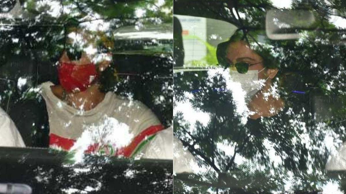 Paparazzi Files: Deepika Padukone, Ranveer Singh spotted outside Mumbai's Hinduja hospital