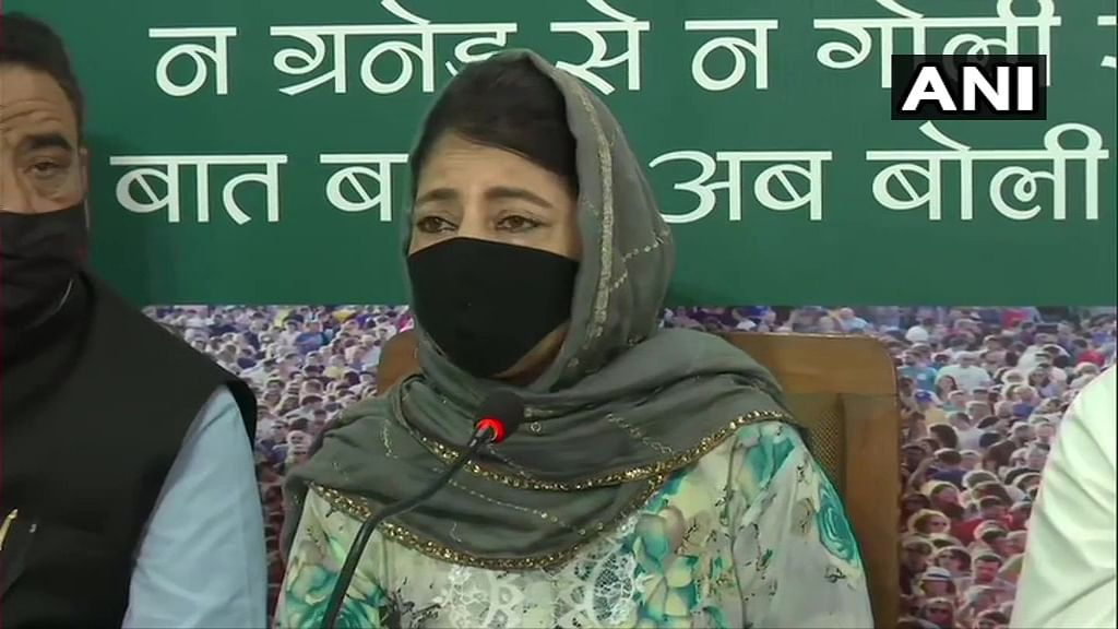 Unemployment and inflation on the rise since abrogation of Article 370: PDP chief Mehbooba Mufti attacks Centre
