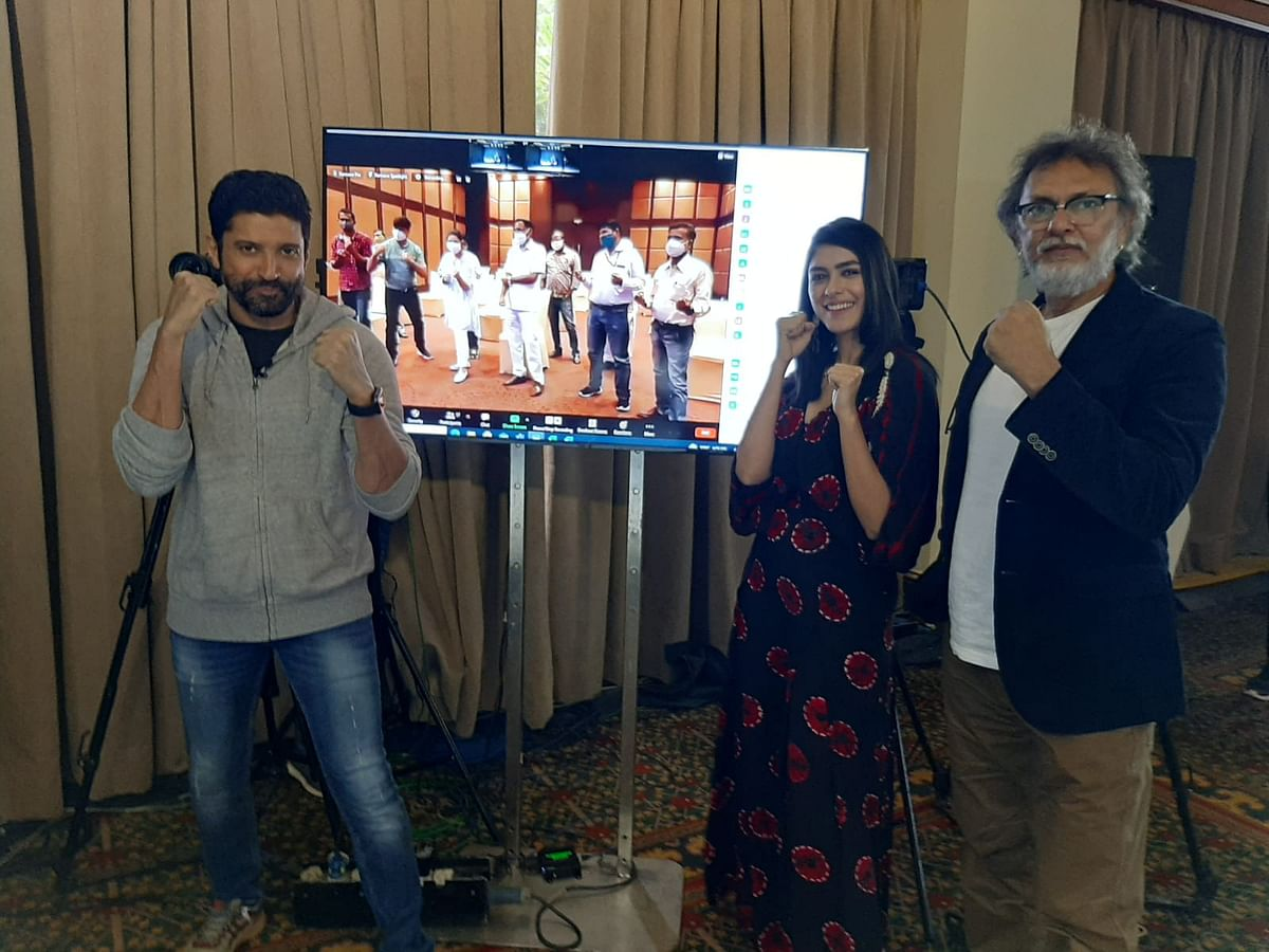 Indore: Focusing on the emotional journey of character was a big challenge, says TOOFAAN actor Farhan Akhtar