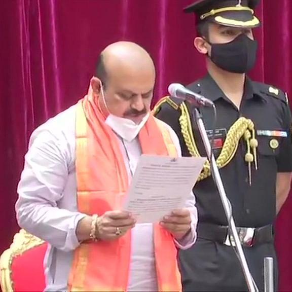 Basavaraj Bommai takes oath as 23rd Chief Minister of Karnataka