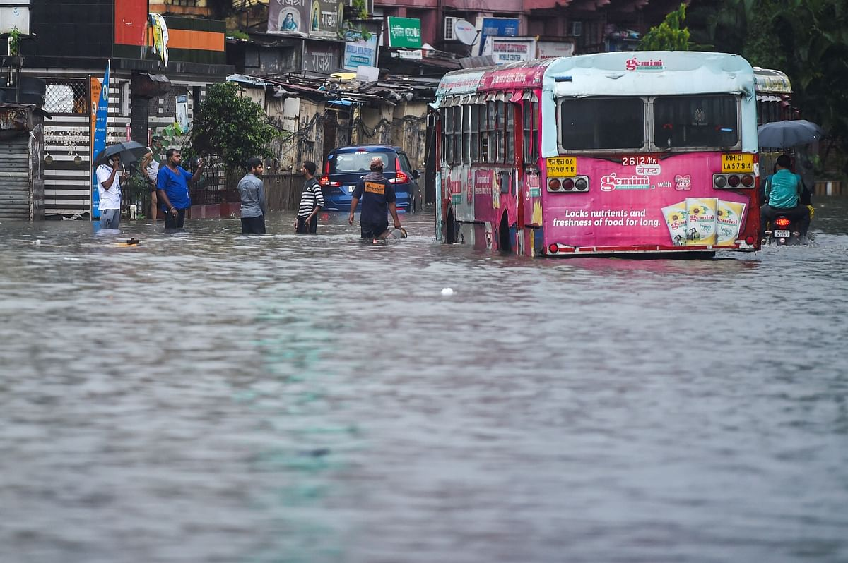 Navi Mumbai receives over 300 mm rainfall; waterlogging reported at several places