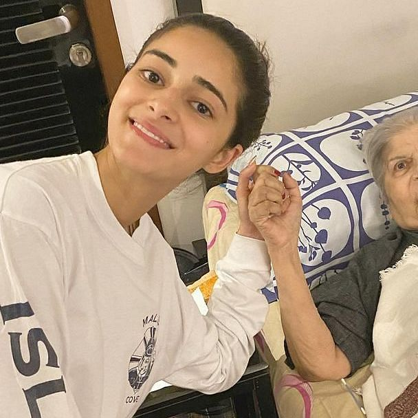 Ananya Panday's grandmother passes away; Neelam Kothari, Samir Soni and others arrive to pay last respects