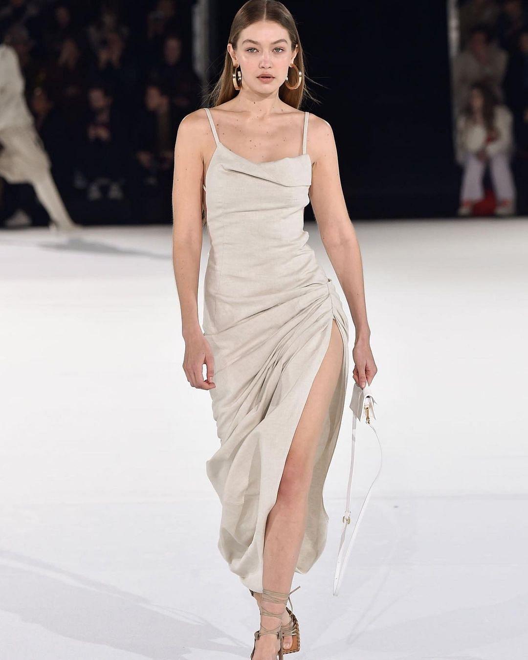 In Pics: Priyanka Chopra copies Gigi Hadid's iconic runway dress worth nearly Rs 60,000