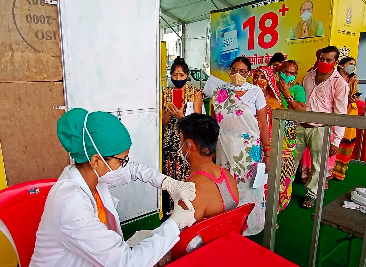 Indore: 37,788 people vaccinated at 141 sites across district