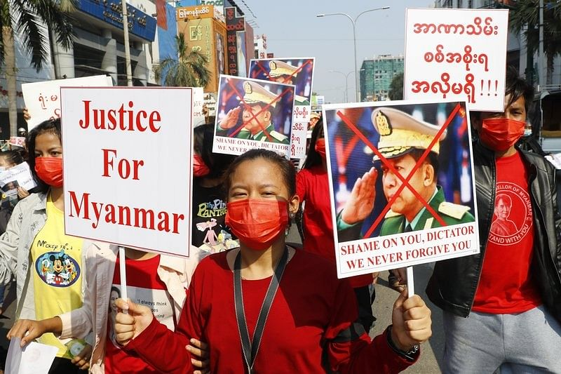 Myanmar frees 23k anti-coup protesters