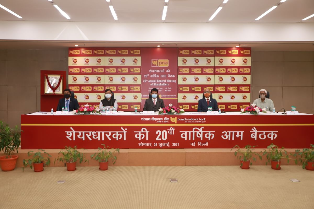 Punjab National Bank holds 20th AGM through video conference