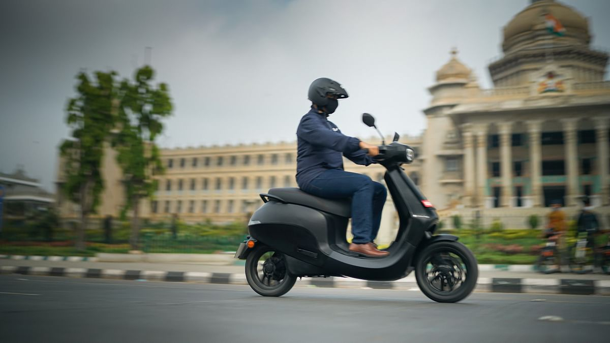 Ola Futurefactory is coming up on a 500-acre site in Tamil Nadu, India.
