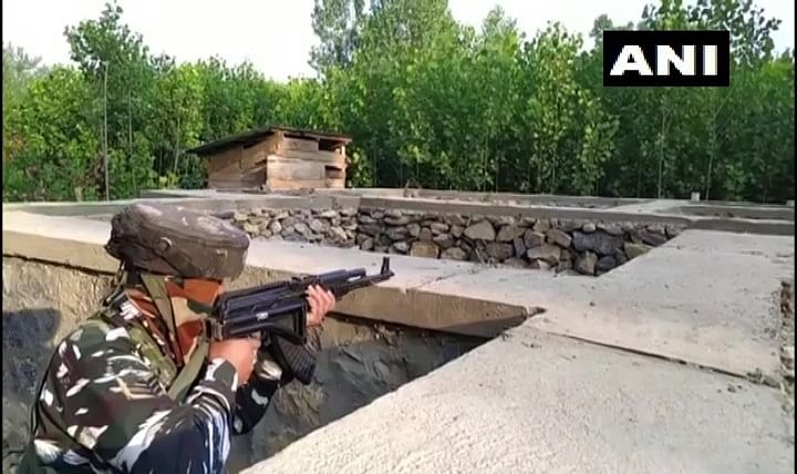Encounter breaks out between militants and security forces in Jammu and Kashmir's Kulgam