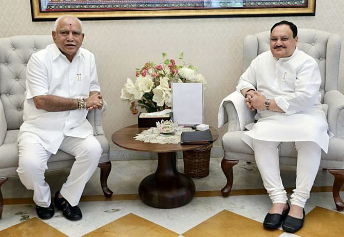 'Karnataka CM is doing well...': Here's what BJP chief JP Nadda said amid speculations of BS Yediyurappa's exit