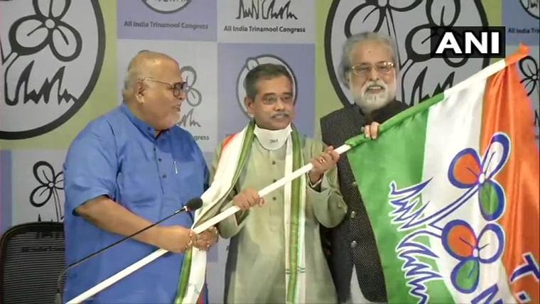 Setback for Congress in West Bengal as former President Pranab Mukherjee's son Abhijit Mukherjee joins TMC