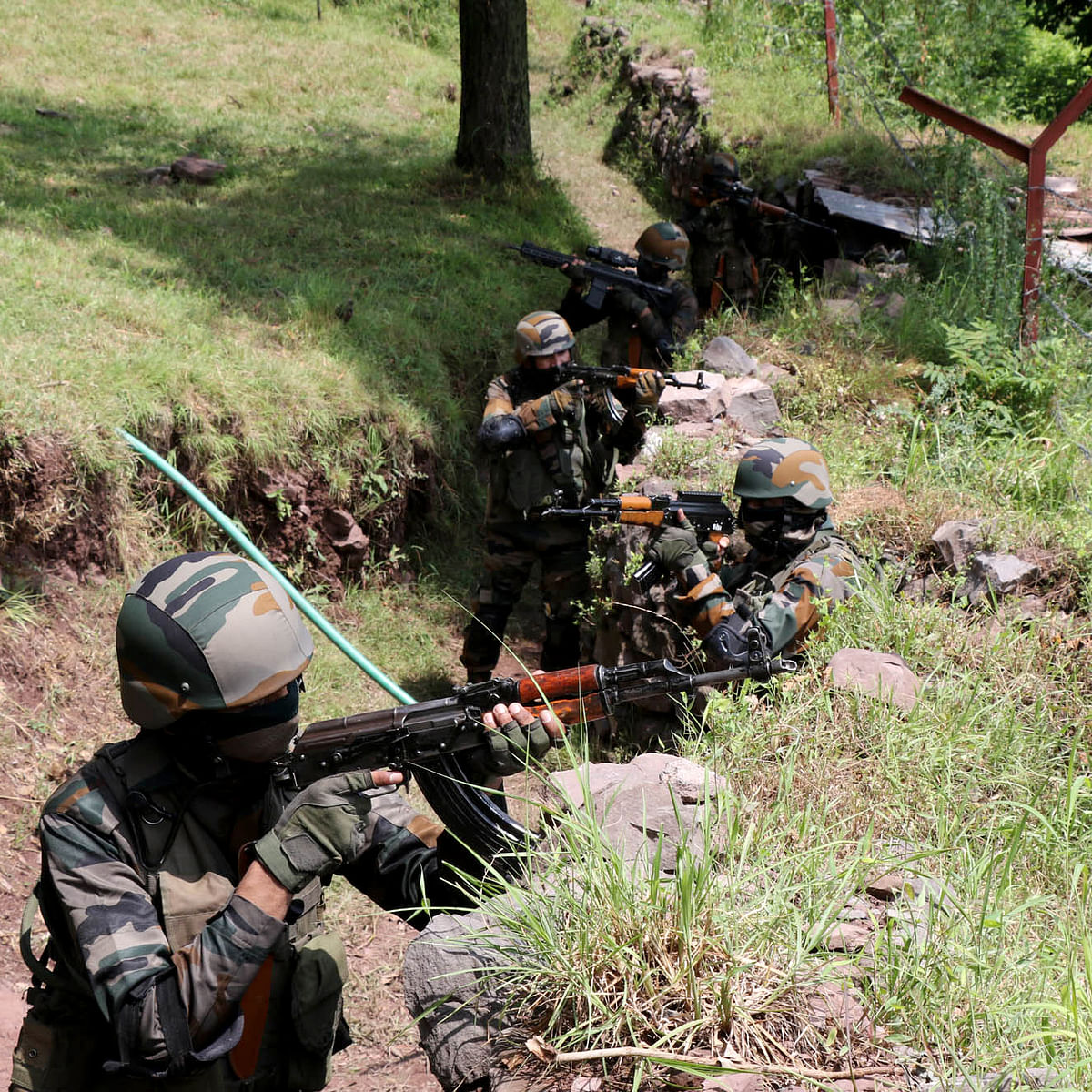 Pakistani LeT commander, 2 local terrorists killed by security forces in Jammu and Kashmir's Pulwama