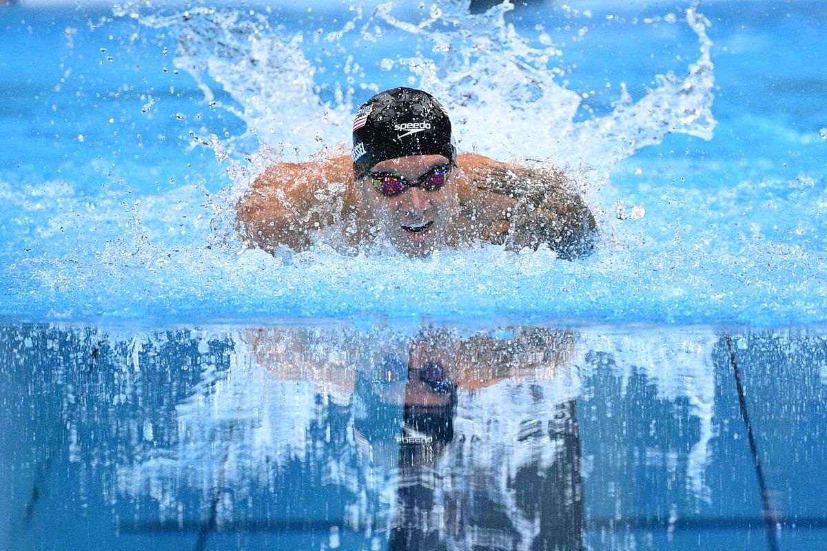 Swimming at Tokyo Olympics: USA's Caeleb Dressel wins gold in 100m butterfly with world record time