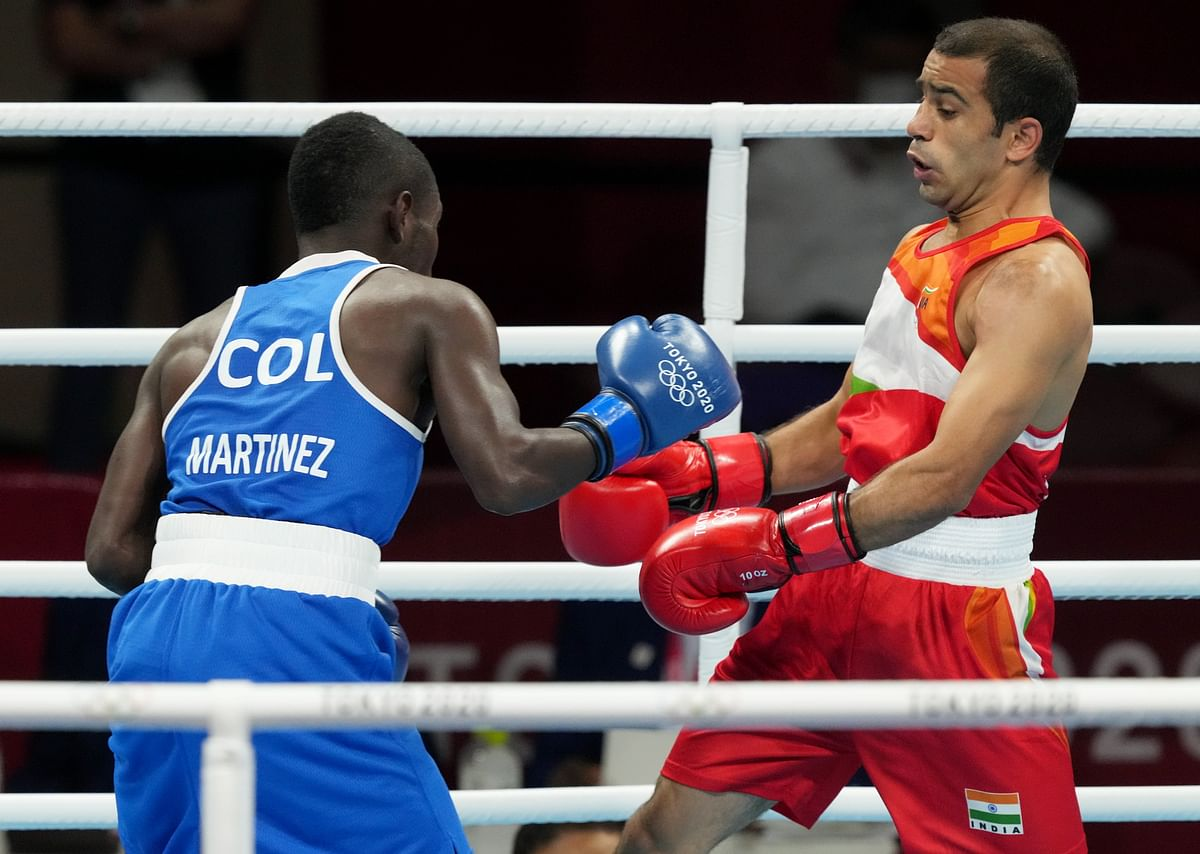 Boxing: Panghal's Olympic campaign ends
