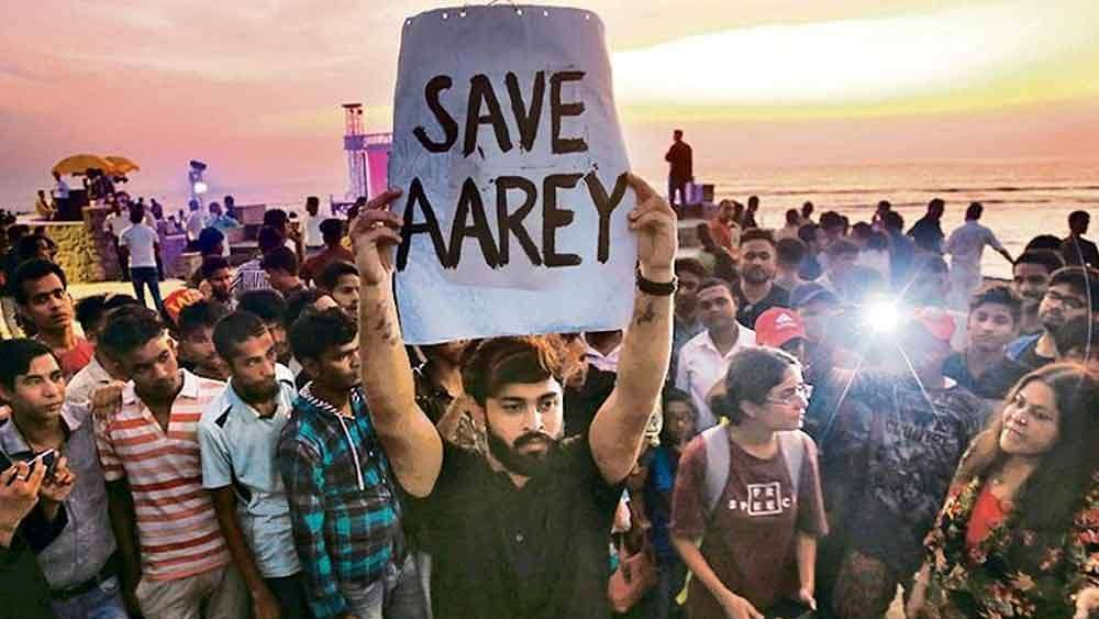 Home Department orders Mumbai Police to withdraw cases filed against Aarey protestors