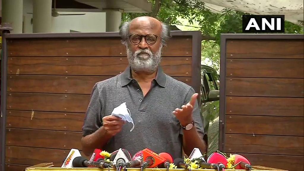 'I don't have plans to enter politics': Rajinikanth dissolves Rajini Makkal Mandram
