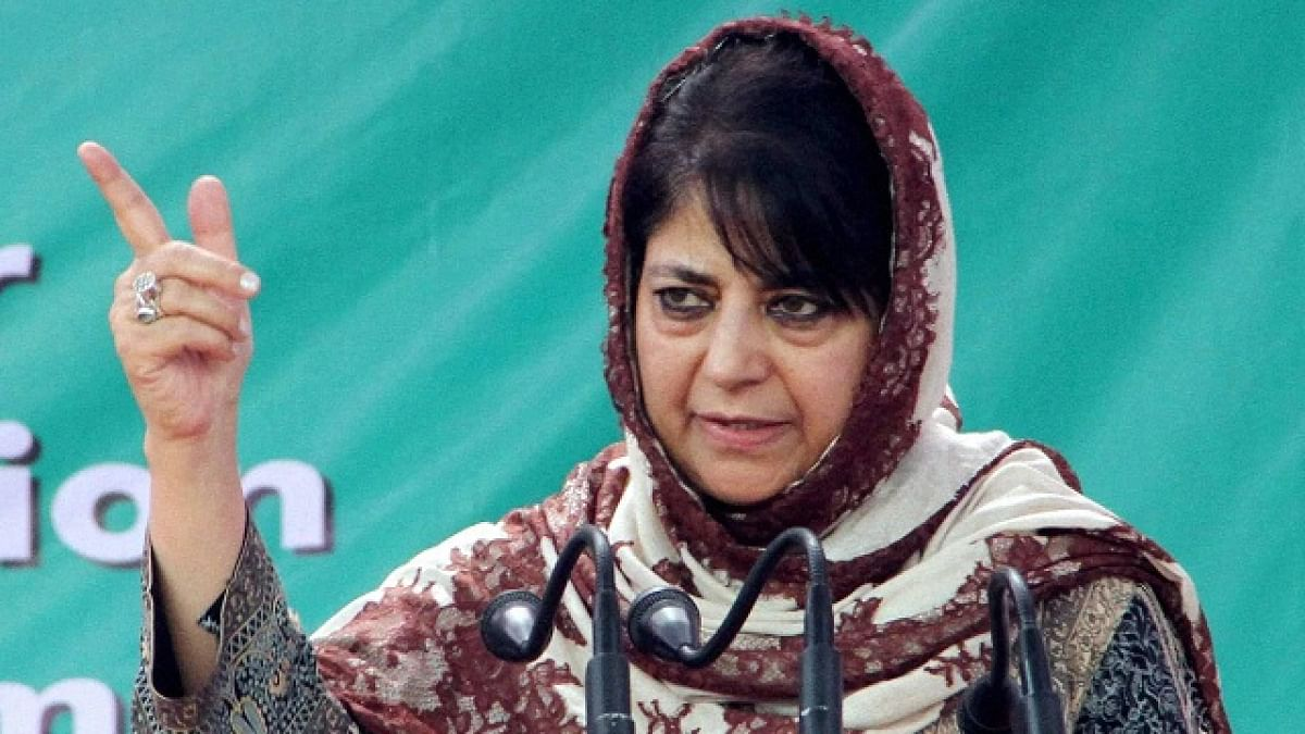 People's Democratic Party (PDP) leader Mehbooba Mufti
