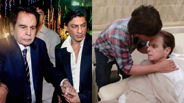 Dilip Kumar Death: A look at the legendary actor's bond with his 'mooh-bola beta' Shah Rukh Khan