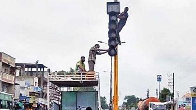 Madhya Pradesh: Chowpatty Square in Jaora gets traffic signals