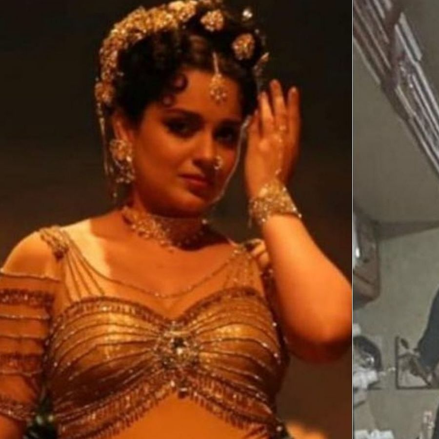 Kangana Ranaut shares a glimpse of her dramatic transformation from 'Thalaivi' to 'Dhaakad'
