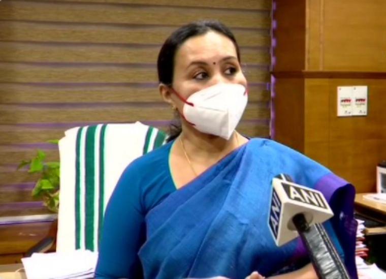 Kerala Health Minister Veena George