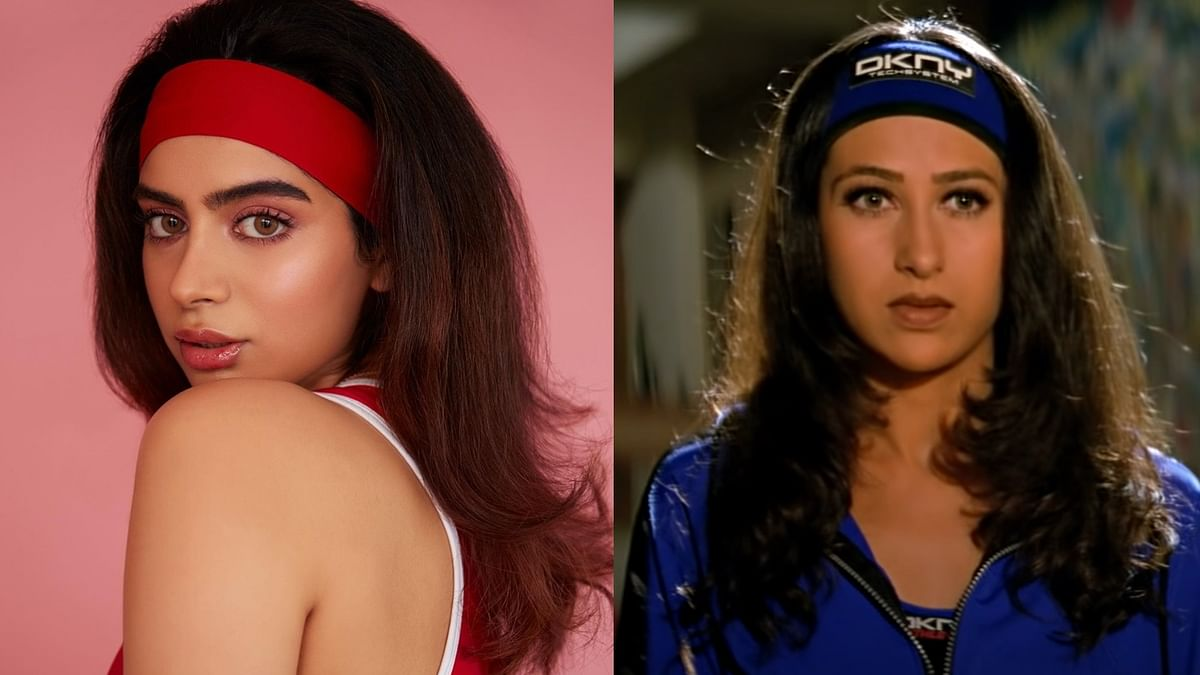 Khushi Kapoor takes a leaf from Karisma Kapoor's stylebook in 'Dil To Pagal Hai' – See pics