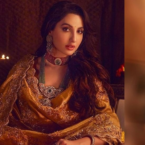 'I'm just a hopeless dreamer': Nora Fatehi expresses desire to star in her idol Madhuri Dixit's biopic