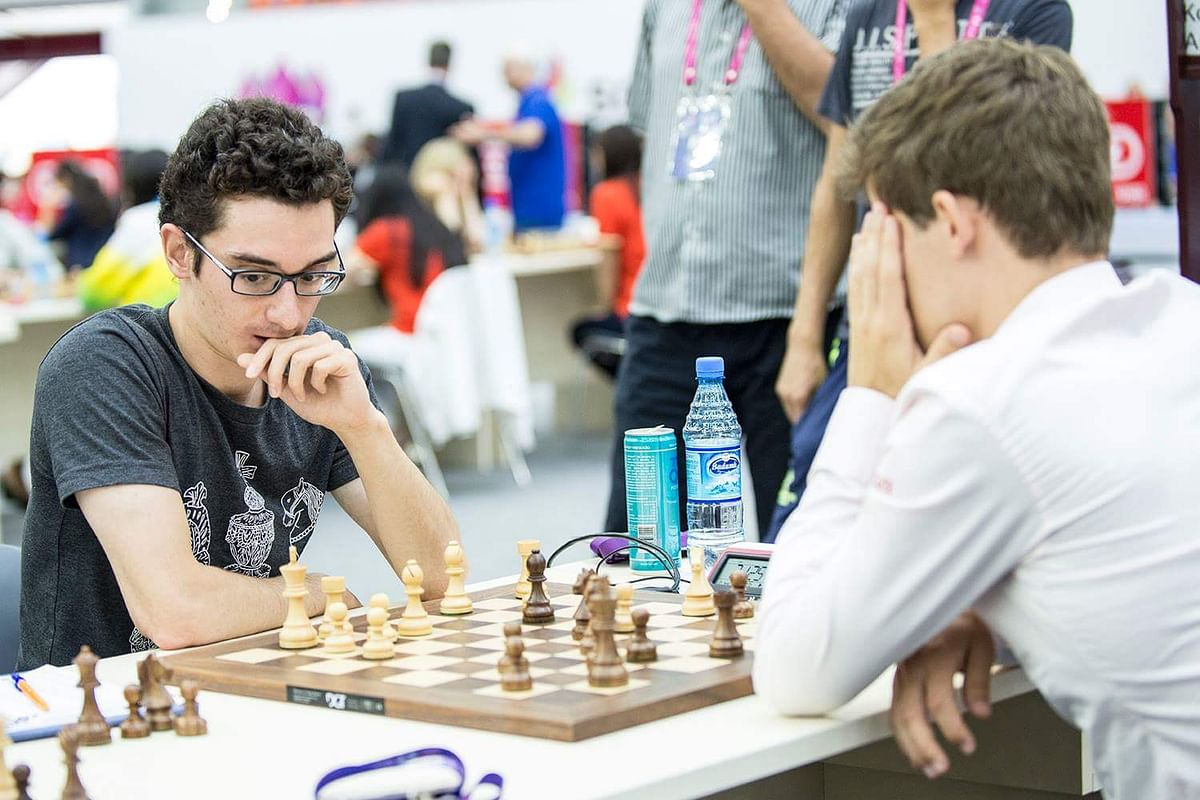 FIDE Chess World Cup 2021: Fabiano Caruana wins by default after his opponent Susanto Megaranto's COVID-19 test result came positive during the game