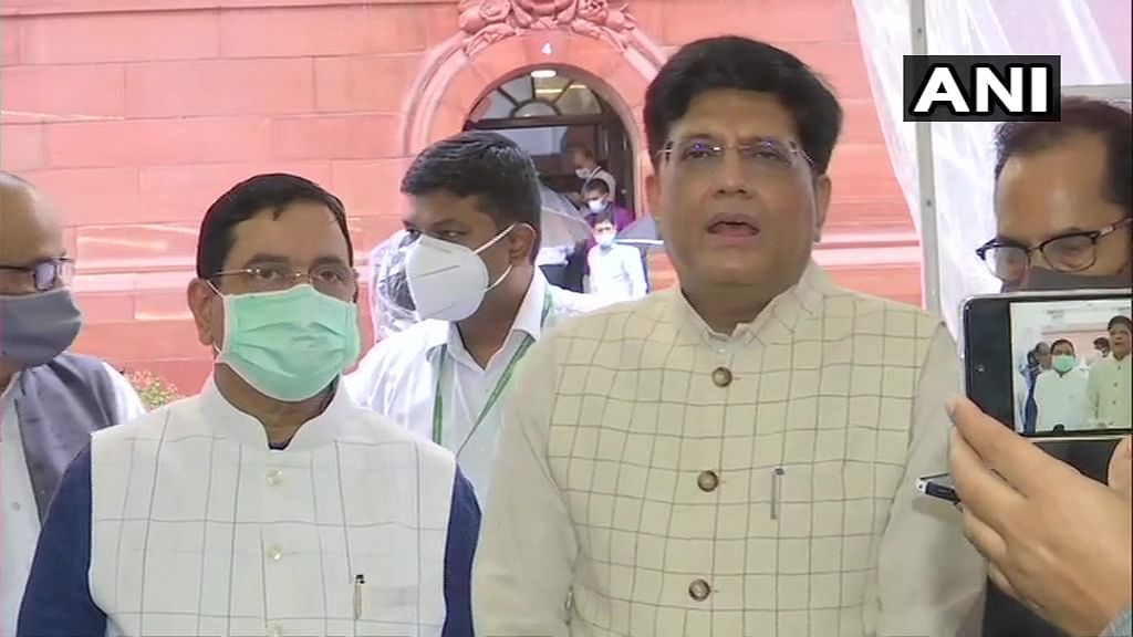 Opposition has insulted people of India: Piyush Goyal on uproar in Parliament
