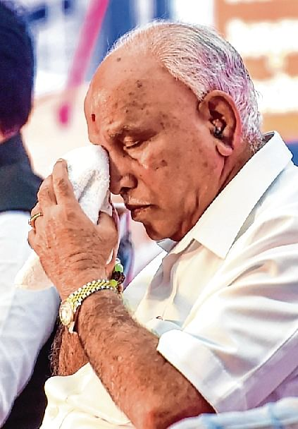 'KING TIGER' CM WHO NEVER COMPLETED HIS TERMS, IS STILL FAR FROM POLITICAL TERMINUS
