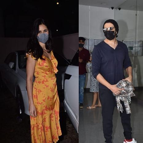 In Pics: Katrina Kaif, Kartik Aaryan, Tara Sutaria and others spotted in Mumbai