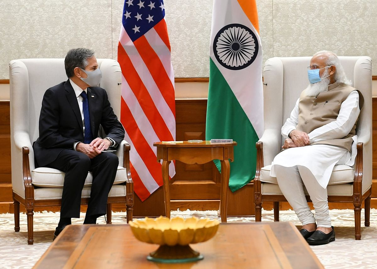 US Secretary of State Anthony Blinken meets PM Narendra Modi; announces USD 25 million aid to support India's COVID-19 vaccination process
