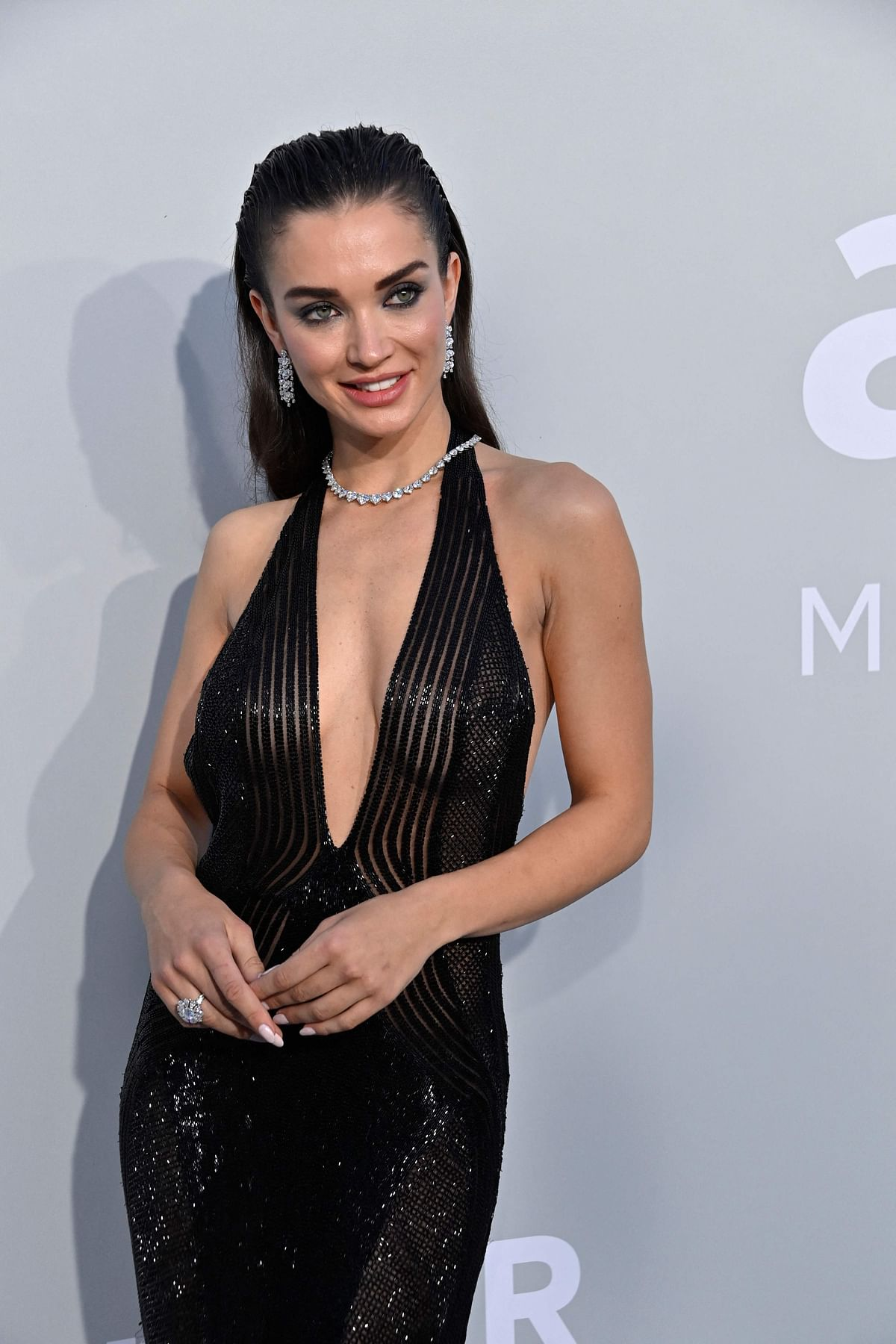 Cannes 2021: From burgundy ball gown to sheer black dress, '2.0' fame Amy Jackson's fashionable moments