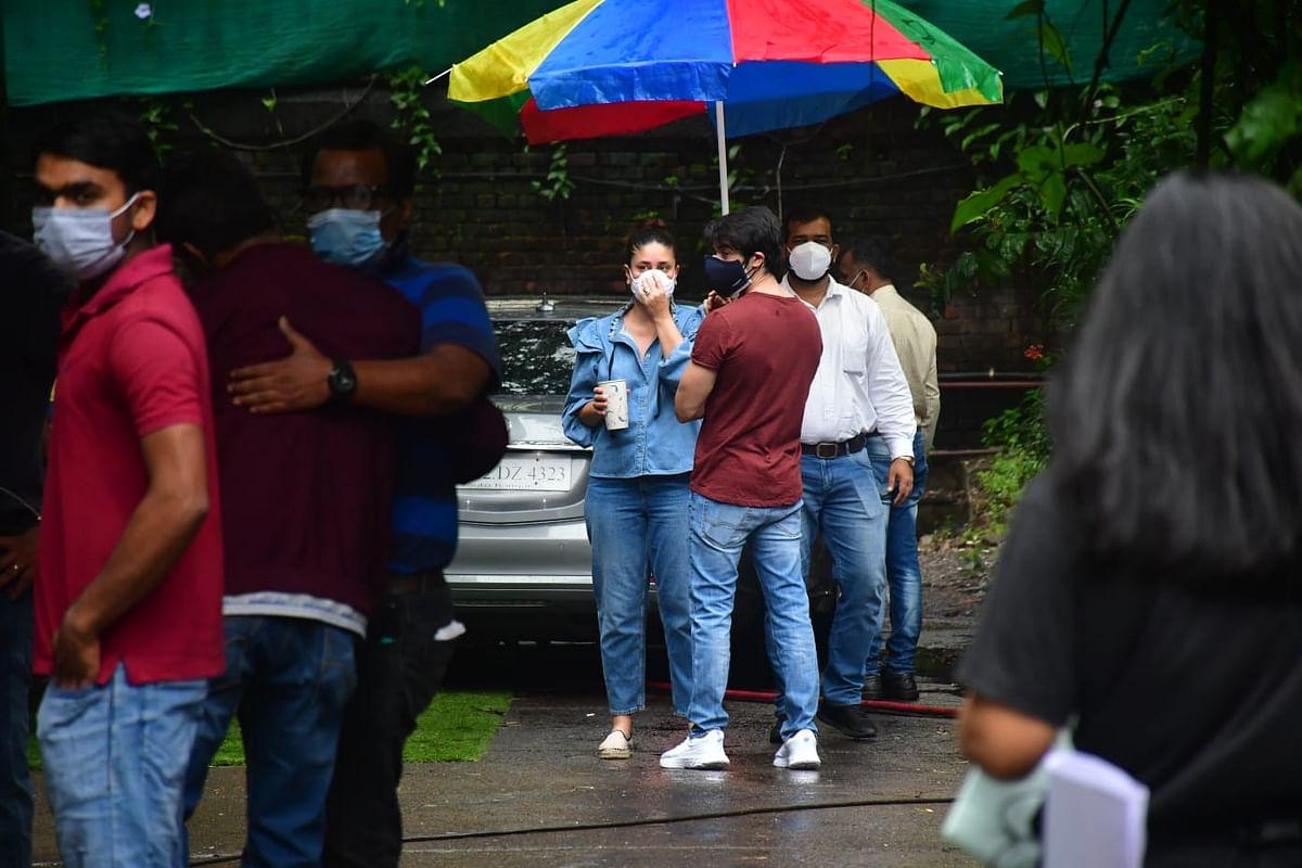 In Pics: Kareena Kapoor, Anil Kapoor, Rhea Chakraborty and other celebrities spotted in Mumbai