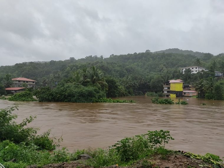 Photos and videos: Parts of Ratnagiri submerged after incessant rains; NDRF team faces hurdles in rescue operation in flooded parts