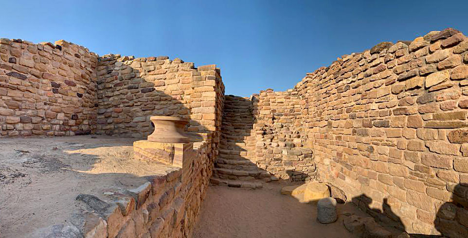 Gujarat, July 27 (ANI): Dholavira, a Harappan-era city, has been inscribed as a World Heritage Site (WHS) by the UNESCO heritage committee, at Khadirbet, in Kutch on Tuesday.