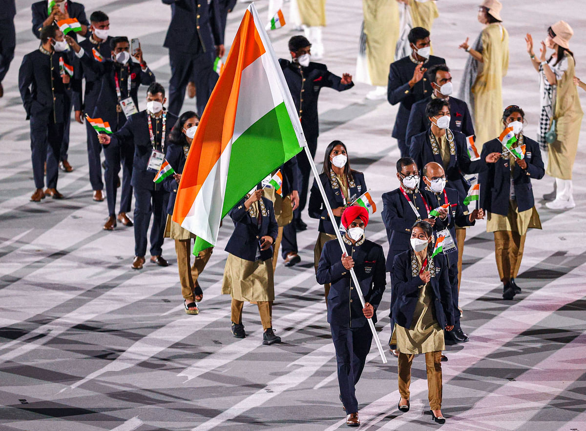 Tokyo Olympics 2020: RSS-inspired khaki for Indian contingent