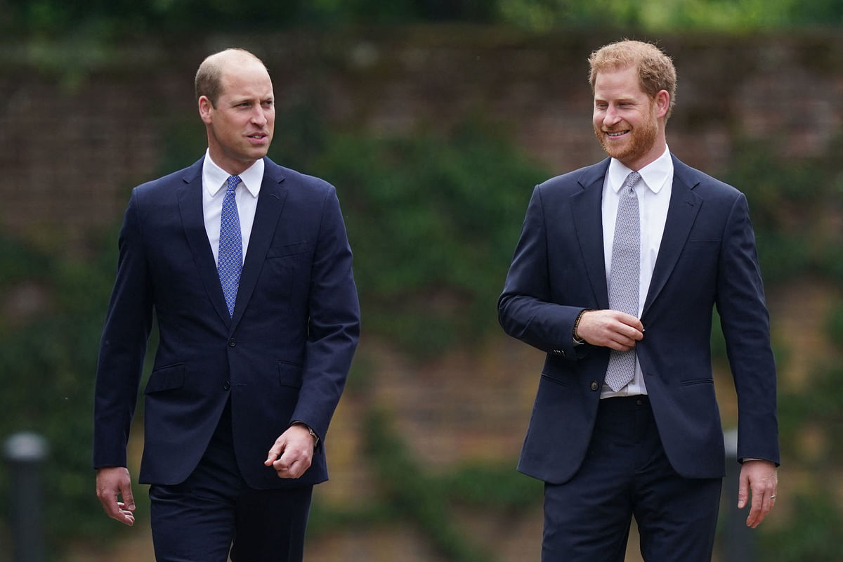 Prince William's staff planted stories about Harry's mental health: Author