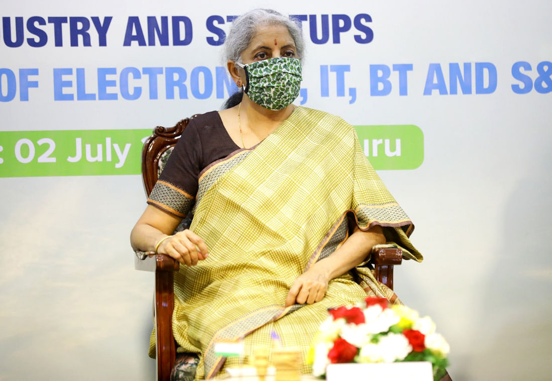 Centre taking up reforms despite fighting COVID-19 pandemic, says Finance Minister Nirmala Sitharaman