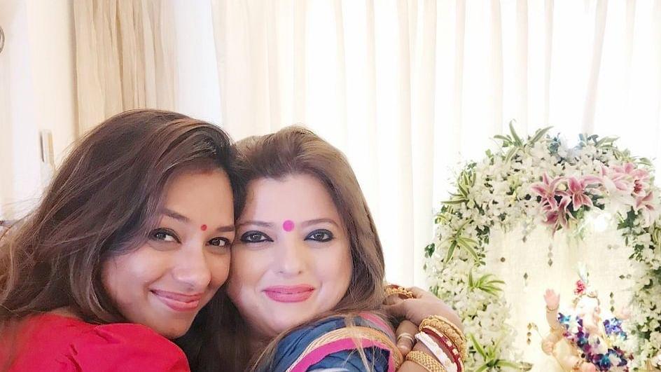 Delnaaz Irani and Rupali Ganguly