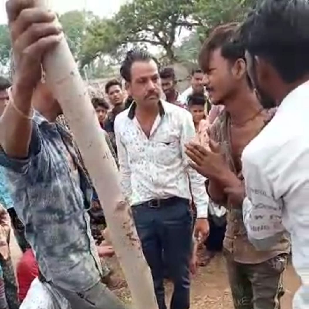 Rajgarh: On suspicion of being goat thief, youth tied up to pole, beaten brutally by villagers