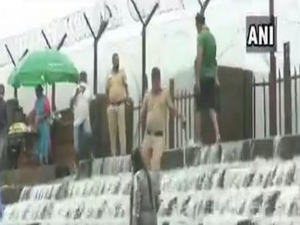 Police deployed at picnic spots in Lonavla to ensure adherence to COVID-19 guidelines is maintained