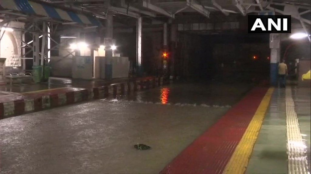 A sudden change in climatic conditions led to Mumbai witnessing over 100 mm rainfall in six hours, the IMD said in an early morning bulletin.