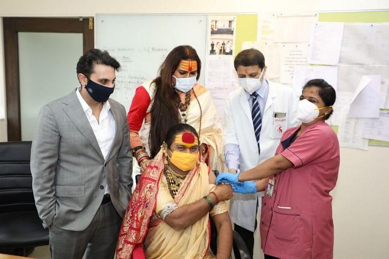 'Healthcare and dignity should be fundamental human rights': Adar Poonawalla collaborates with transgender activist Laxmi Narayan Tripathi