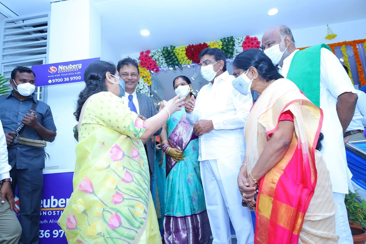 Neuberg Diagnostics launches new pathology lab in Telangana's Khammam; co aims 30 new launch in FY22