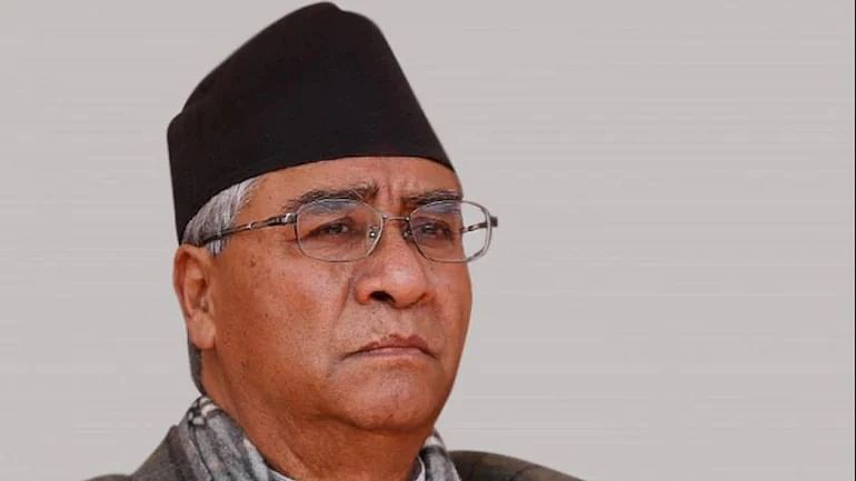 Sher Bahadur Deuba sworn in as Prime Minister of Nepal for fifth time