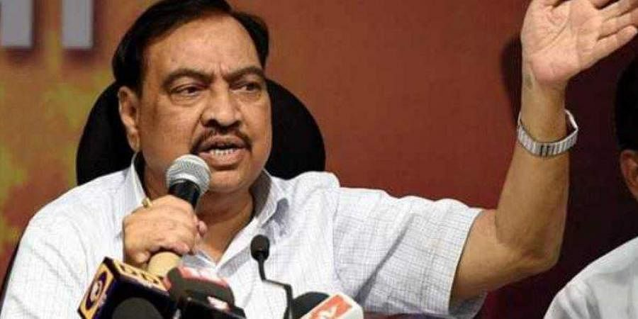 Mumbai: Khadse's kin bought MIDC land in 'void' sale deed, claims ED