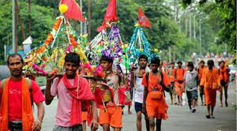 The last Kanwar Yatra was in 2019, as in 2020, the Covid pandemic forced the cancellation of the yatra