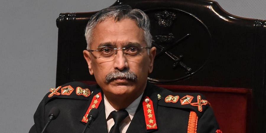 Chief of Army Staff General M M Naravane