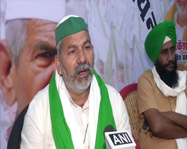'Govt can talk, but no conditions should be imposed': BKU leader Rakesh Tikait after Centre assures strengthening of APMCs