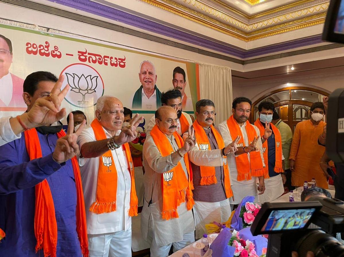 'It is a big responsibility, govt will be pro-poor people': Karnataka CM-elect  Basavaraj Bommai